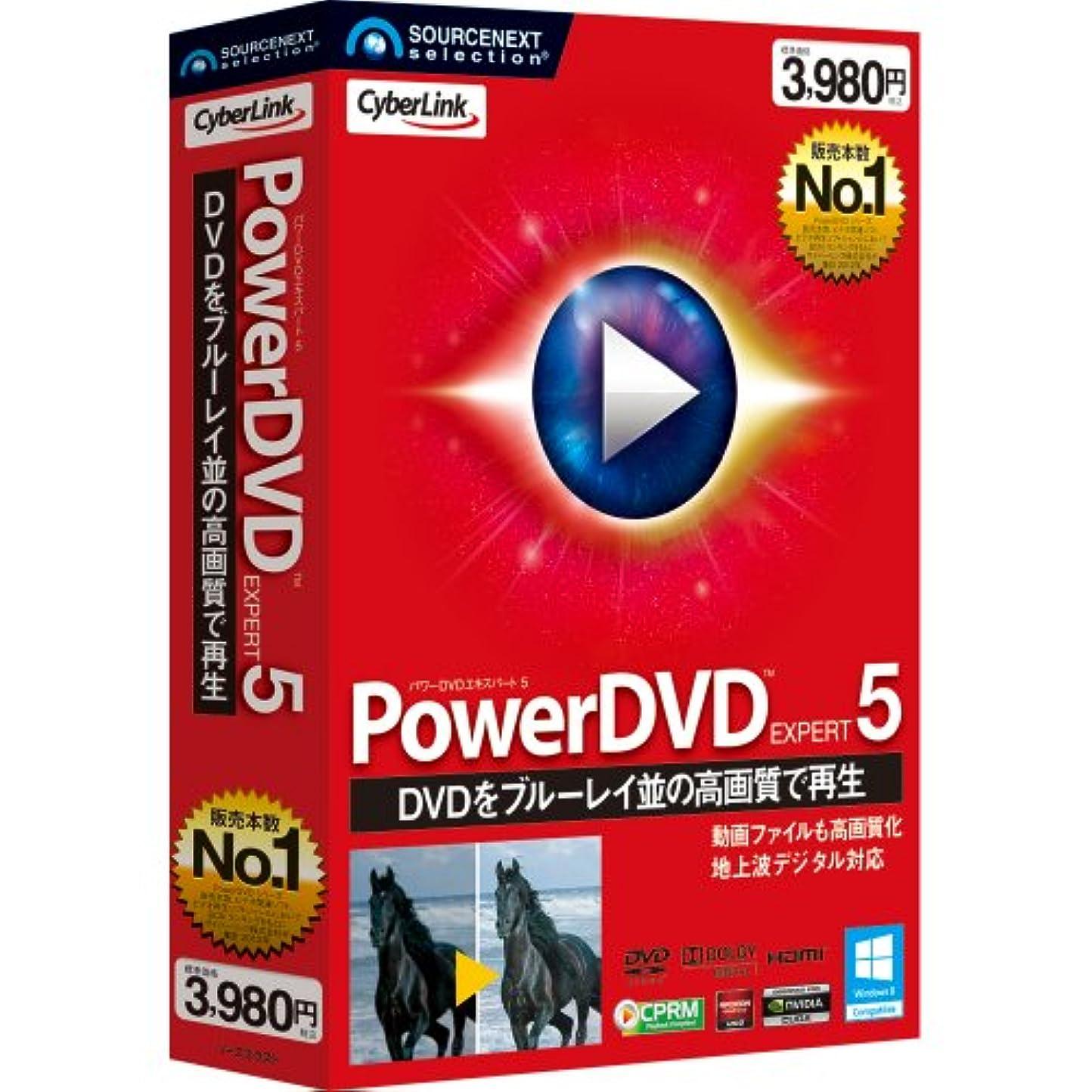 分岐するたまに法的PowerDVD EXPERT 5