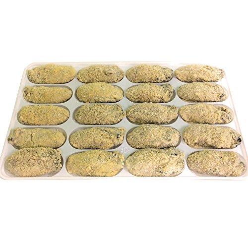 【産地直送】【広島江田島産】牡蠣屋さんの作った かきフライ 薄衣 冷凍 大粒 20粒入り (1粒約40g〜50g)