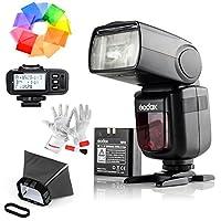 【技適マーク付き】Godox Ving V860IIS 2.4G GN60 TTL HSS 1/8000s リチウムオン電池カメラフラッシュスピードライト - 1.5Sリサイクルタイム650フルパワーポップ TTL/M/マルチ/ S1/ S2をサポート ソニー用X1T-Sワイヤレスフラッシュトリガー付き Sonyソニーデジタル一眼レフカメラに対応 電波法認証済み