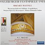 ザルツブルグ音楽祭1981 - モーツァルト: 交響曲第25番、ヴァイオリン協奏曲第4番、他