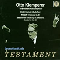 Otto Klemperer Live With Berlin Philharmonic by BACH / MOZART / BEETHOVEN (2003-11-11)