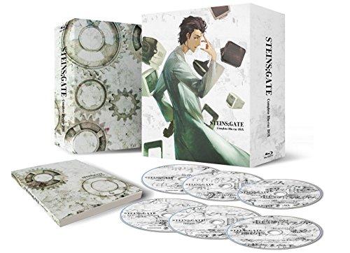 STEINS;GATE コンプリート Blu-ray BOX【期間限定生産】の詳細を見る
