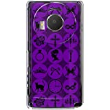 CaseMarket 【ポリカ型】 docomo LUMIX Phone P-02D ポリカーボネート素材 ハードケース [ アラカルト - パープル ]
