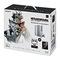 PLAYSTATION 3(40GB) メタルギア ソリッド 4  ガンズ・オブ・ザ・パトリオット WELCOME BOX with DUALSHOCK 3 サテン・シルバー【メーカー生産終了】