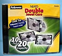 Fellowes(R) Double CD Jewel Cases Clear Pack Of 10 [並行輸入品]