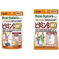 【セット買い】ディアナチュラ ビタミンC MIX 60日分 & ビタミンB MIX 60日分