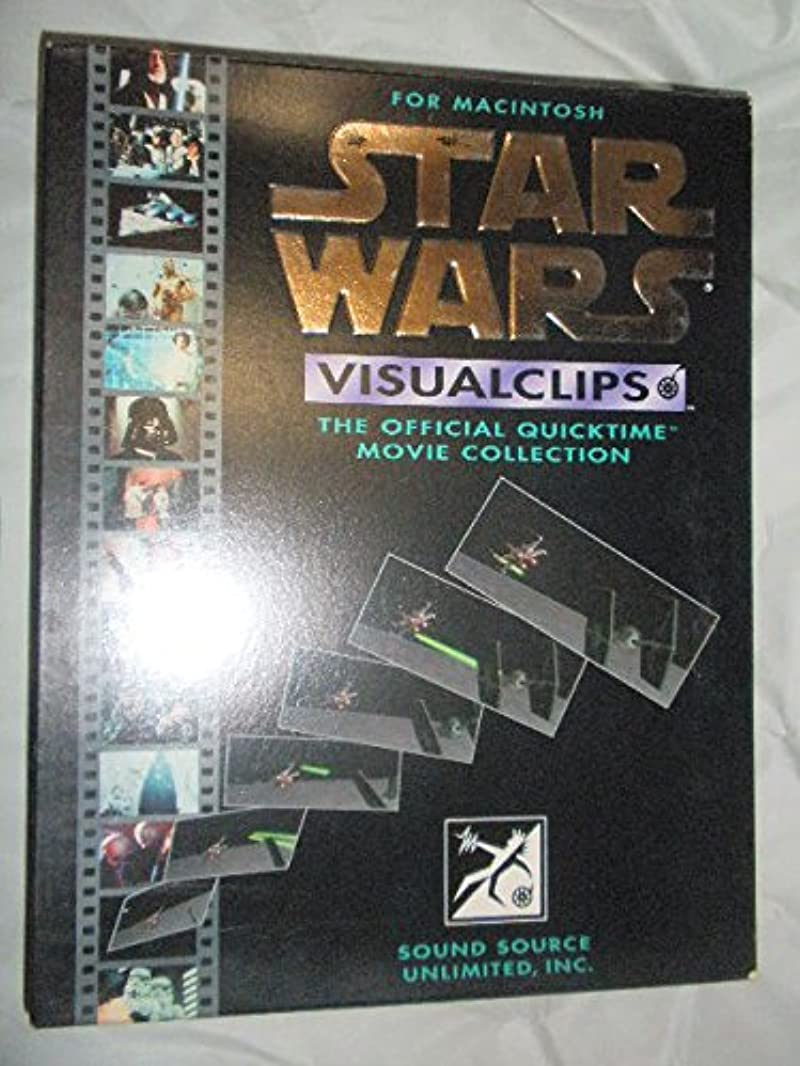 豊かな思いつくでスターウォーズ starwars Visualclips 映像鑑賞ソフト (MAC)