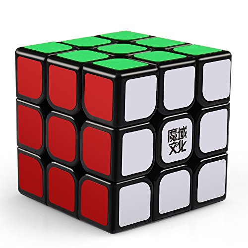 coogam moyu Aolong v2スピードキューブ3 x 3パズルキューブ拡張バージョンブラック
