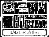 エデュアルド 1/48 ズーム 三菱 局地戦闘機 雷電 エッチングパーツ (ハセガワ用) プラモデル用パーツ EDUFE117