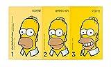 The Face Shop (ザ・フェイスショップ) The Simpsons シンプソンズ 済州火山 溶岩 3ステップディープ ブラックヘッド クレンジング ノーズ・ストリップ 海外直送品
