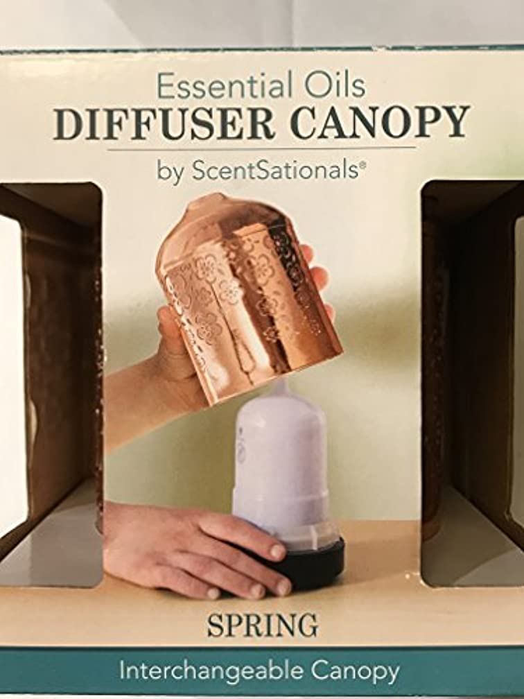 子供時代有効な文庫本ScentSationals Essential Oils Interchangeable Diffuserキャノピー( for use with Ultrasonic Diffuser ) – ばね