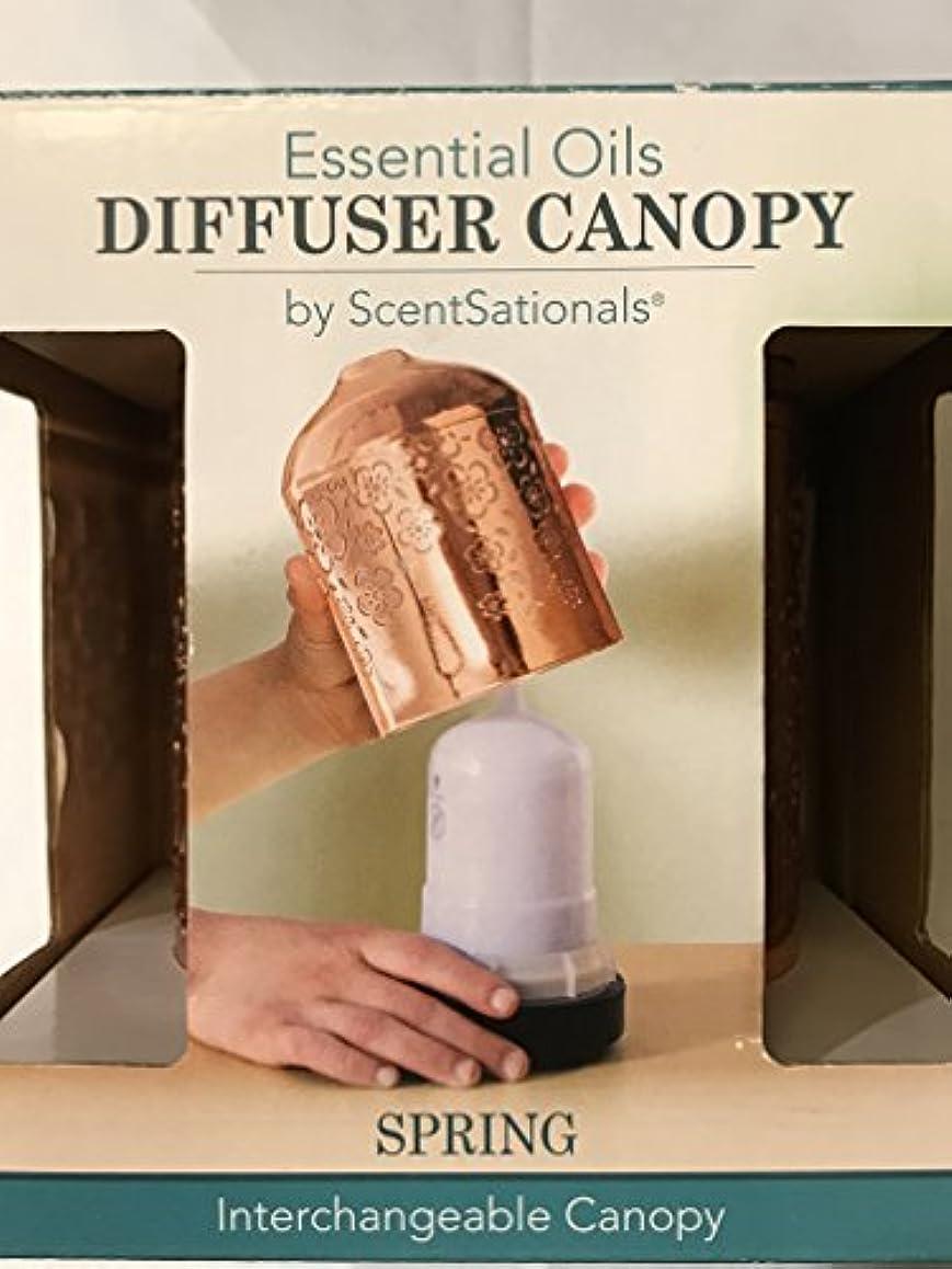 に同意するその後プレゼントScentSationals Essential Oils Interchangeable Diffuserキャノピー( for use with Ultrasonic Diffuser ) – ばね