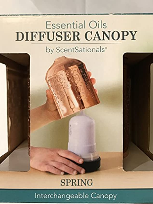 明日くつろぎブッシュScentSationals Essential Oils Interchangeable Diffuserキャノピー( for use with Ultrasonic Diffuser ) – ばね