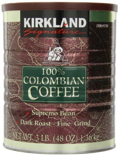 100%コロンビアコーヒー 1.36kgレギュラーコーヒー(粉) 細挽き