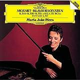 モーツァルト:ピアノ・ソナタ第8番&第10番&第11番「トルコ行進曲付」、幻想曲ニ短調K397