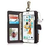 アイフォン用財布 iPhone6/6S/7 カード入れ 小銭入れ 耐摩擦HARRMS