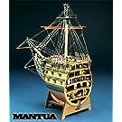 1062 輸入木製帆船模型 マンチュア モデル・パナルト 746 H.M.S. ビクトリー 船首カットモデル