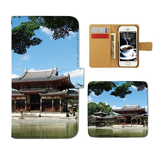 Tiara iPhone6 (4.7) iPhone6 スマホケース 手帳型 京都 平等院鳳凰堂 日...