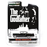 "GREENLIGHT 1:64SCALE HOLLYWOOD ""THE GODFATHER"" ""1955 CADILLAC FLEETWOOD SERIES 60""(BLACK) グリーンライト 1:64スケール ハリウッド 「ゴッドファーザー」「1"