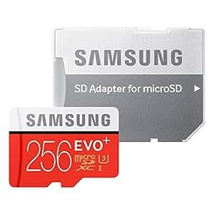 Samsung microSDXCカード 256GB EVO+ Class10 UHS-I U3対応 (最大読出速度95MB/s:最大書込速度90MB/s) MB-MC256DA/FFP