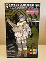 """Dragon Cyber Hobby Exclusive - Colonel Charles """"Kit"""" Carson 101st Airborne D Day Invasion 1/6 scale / 12 inch Military"""