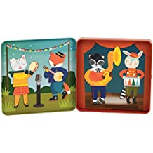 Wild & Wolf Animal Band On-The-Go Magnetic Play Set Magnetic playset
