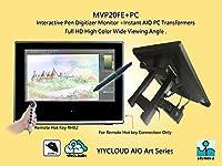 Yiynova MVP20U+FE(V2) Full HD Tablet Monitor + Yiynova Cloud PC CP83S-1(Win10 OS 2G/32G Weight 46g) All-In-One(AIO) Series (No Other PC is Needed) [並行輸入品]
