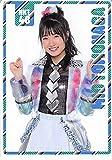 【朝長美桜】 公式トレカ HKT48 バグっていいじゃん ポケットスクールカレンダー