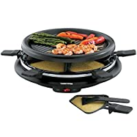 Toastess Non-Stick 6-Person 13 Mini Party Grill And Raclette With Spatulas by TOASTESS INTL/ SALTON