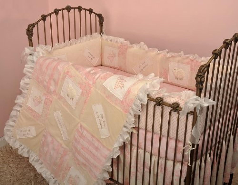 Cotton Tale Designs Heaven Sent Girl 4 Piece Crib Bedding Set by Cotton Tale Designs
