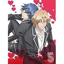 【Amazon.co.jp限定】美男高校地球防衛部LOVE!LOVE! 5(全巻購入特典:「描き下ろしフルカラータオル」引換シリアルコード付)(各巻購入特典:缶バッチ付) [Blu-ray]