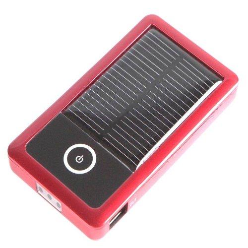 【 大容量3000mAh ソーラーチャージャー 】 cheero Solar Gigabox - iPhone 4S /  iPhone 4 / iPhone 3G / iPod 、 スマートフォン 対応 モバイル 充電器 ( 予備 バッテリー ) ソーラーパネル ( 太陽電池 ) & LEDライト 付き  ★1年保証★  日本語取扱説明書付き