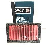 日本製 VIC エアフィルター 日産 【 キューブ ( Z12 / NZ12 ) / ノート ( E11 / NE11 / ZE11 ) 】 エアクリーナー / エアーエレメント 【 AY120-NS045 】 A-2011V