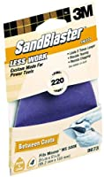 3M SandBlaster 9673 220-Grit Mouse Sandpaper Sheets 4-Pack [並行輸入品]