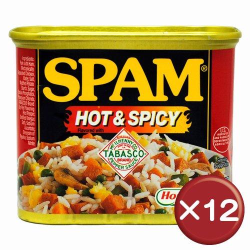 ホーメル スパム(SPAM) ホット&スパイシー 12缶セット