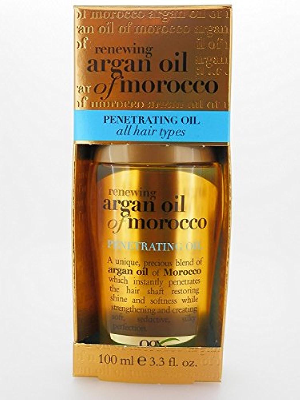 全ての髪質用  モロッカンオイル モロッカンアルガンオイル  Penetrating Oil all hair types 100ml [アメリカ直送][並行輸入品]