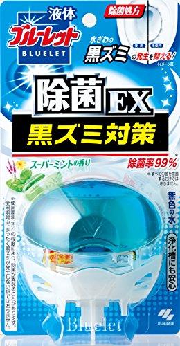 液体ブルーレットおくだけ除菌EX トイレタンク芳香洗浄剤 本体 スーパーミン...