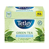 Tetley - Green Tea Decaf 50 Bags - 100g