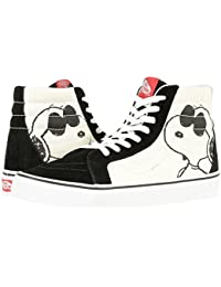 (バンズ) VANS メンズスニーカー・靴 SK8-Hi Reissue X Peanuts Collaboration Joe Cool/Black Men's 5.0, Women's 6.5 23.5cm(メンズ23.0cm, レディース23.5cm) Medium [並行輸入品]