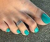 トーリング4mm幅 ( シルバー ) モデル スタイル セレブ シンプル デザイン きれい 足指用リング toe ring