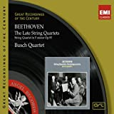 Beethoven:Late String Quartets