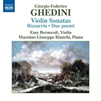 ゲディーニ:ヴァイオリンとピアノのための作品全集(GHEDINI, G.F.: Violin Sonatas)