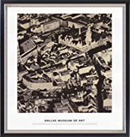 ポスター ゲルハルト リヒター City Pictures Munich 額装品 マッキアフレーム-S(ブラックシルバー)