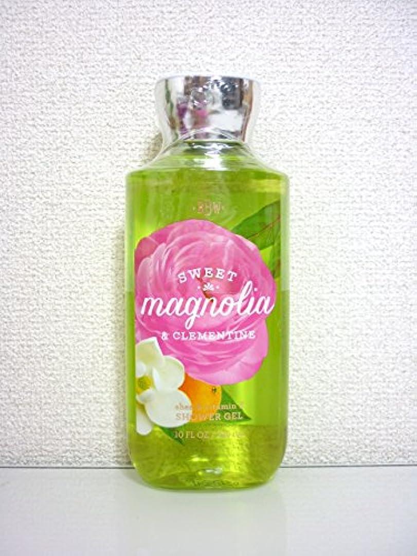 崩壊立証するバン【Bath&Body Works/バス&ボディワークス】 シャワージェル スイートマグノリア&クレメンタイン Shower Gel Sweet Magnolia & Clementine 10 fl oz / 295 mL...