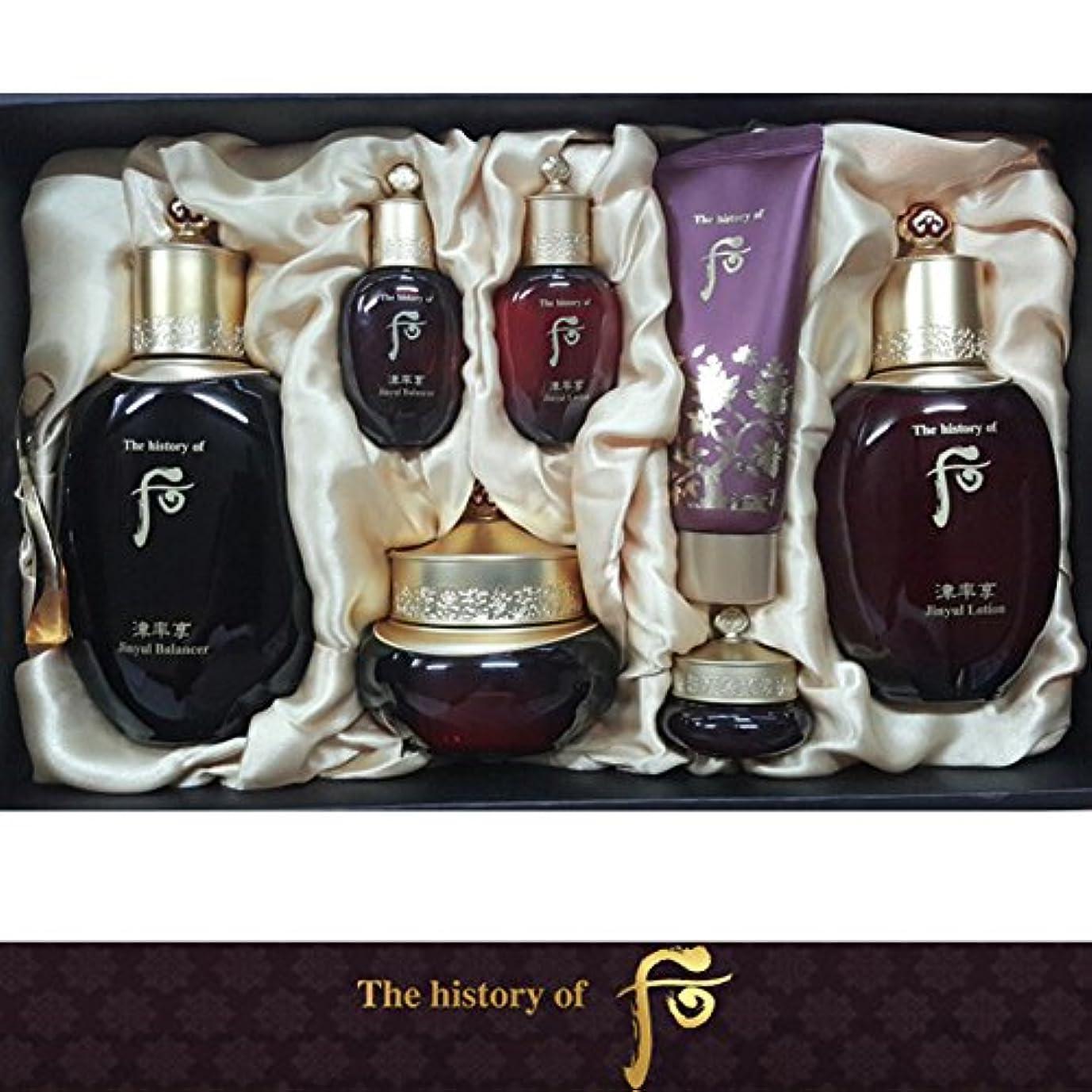 川ほぼ軽【フー/The history of whoo] Whoo后(フー) 津率享(ジンユルヒャン) 3種セット/JINYUL SET+[Sample Gift](海外直送品)