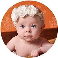 miugle新生児赤ちゃんレースヘッドバンドwith Bows