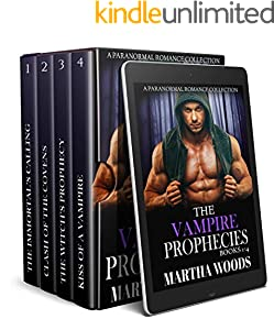 The Vampire Prophecies Collection: Books 1-4 (The Vampire Prophecies Series) (English Edition)