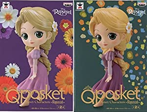 Q posket Disney Characters -Rapunzel- 通常カラー レアカラー 2種セット