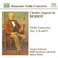 ベリオー:ヴァイオリン協奏曲第1番, 第8番, 第9番