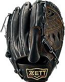 ZETT(ゼット) 軟式野球 プロステイタス グラブ (グローブ) 新軟式ボール対応 ピッチャー用 ブラック(1900) 右投げ用 BRGB30911